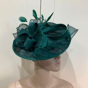 NEW Dark Green Headband Fascinator Wedding Ladies Race Day fashion Accessories