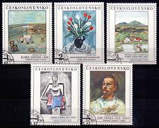 Czechoslovakia 2933-37 USED SCHILDERIJEN, PAINTINGS, GEMÄLDE 191