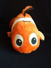 Disney Store Finding Nemo Stuffed Plush Clown Fish Orange Large 16""