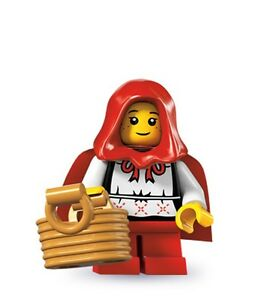 Lego minifig series 7 Little Red Riding Hood Grandma 8