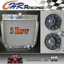 Aluminum Radiator & Dual Fans FOR 1964 1965 1966 1967 Chevy Chevelle/El Camino