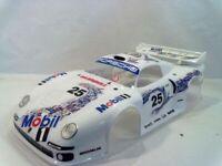 Carrozzeria BODY RC 1/8 Porsche 911 GT1 96 + Alettone/spoiler boot + ADESIVI
