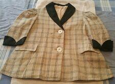 Vintage Hutzler Brother's Co. Satin Collar Child's Blazer Circa 1900's