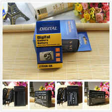 NP-120 Battery +Charger for Fuji FinePix M603 F10 Zoom Pentax 450 550