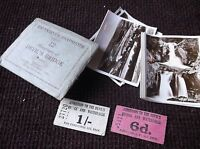 12 MINI REAL PHOTOGRAPHS ENVELOPE VALENTINE'S SNAPSHOTS DEVIL'S BRIDGE B&W
