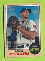 2017 Topps Heritage High # Color Swap - Lance McCullers (#720)  Houston Astros