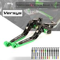 Adjust Fold Extendable Brake & Clutch Levers For KAWASAKI Versys 650 1000 15-19