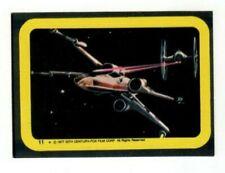 1977 Topps Star Wars Sticker X-Wing Fighter