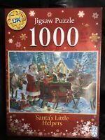 F X Schmidt 1000 Piece Jigsaw Santa's Little Helpers BN Sealed Deluxe Quality...