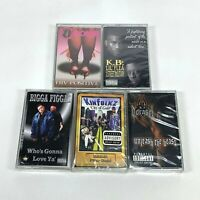 Lot of 5 Cassette Tapes Houston TEXAS H-Town Rap 90's Early 2000 Hip Hop *SEALED
