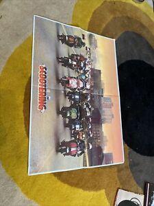 1980s Scootering magazine poster A2 size nice condition  Lambretta Vespa Art