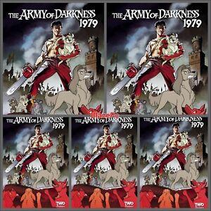 Army of Darkness 1979 #2 Cover M Bundle Option Fleecs FOC Dynamite Presale 10/13