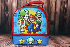Nintendo Super Mario Insulated Lunch Box Bag Mario Luigi Yoshi Toad
