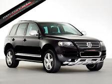 Spoilerlippe für VW Touareg 7L W12 Lippe Frontspoiler Spoiler Diffusor Ansatz