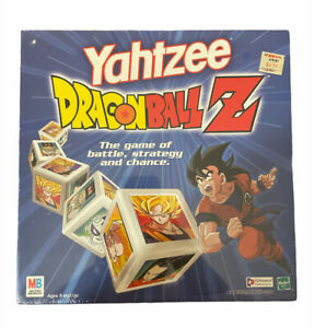 🔥Yahtzee Dragonball Z Edition Board Game 2000 Complete Anime Vintage Rare 🔥NEW