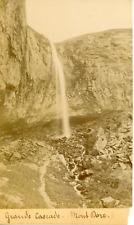 France, Auvergne, Mont Dore, Grande Cascade, ca.1905, vintage citrate print Vint