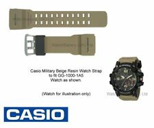Genuine Casio Watch Strap Band for GG-1000 GG-1000-1A5, Military Beige 10517719