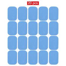 GEL PATCH PAD POUR APPAREIL ELECTRO STIMULATION MUSCULATION 20 PCS