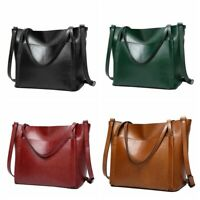 Women Leather Handbags Large Capacity Lady Shoulder Crossbody Bag Tote Shopper