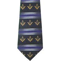 Masonic Bow Tie Neckwear Pre-tied Blue bow tie Gold Round Pattern