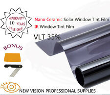 NEW VISION VLT35% 76cmX6m SRC IR Window Tint Film Nano Ceramic IR Reduction 90%