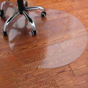 Round Table Cloths Transparent Wood Floor Protection PVC Plastic Carpet Mats