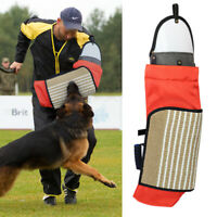 K9 Dog Training Bite Sleeve With Removable Jute Cover Arm Protection SCHUTZHUND