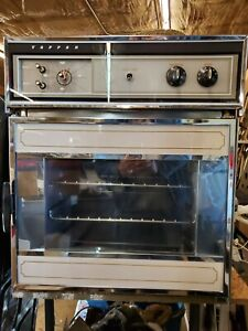 Vintage Tappan Electric Wall Oven Right Hand Swing Door Working Late 1960's