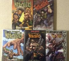 The incredible Hercules 5 HC's  Rellyy ive Herc Books!