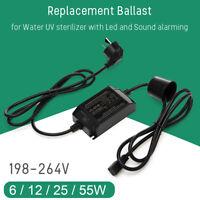 Replacement Ballast LYL-425-55W for Water UV sterilizer 6/12/25/55/75W Black
