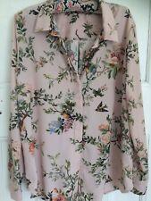 H&M Blouse/Shirt/Top Size 44 Bird Design