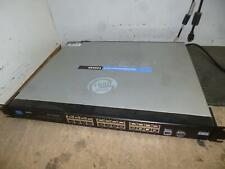Linksys SR2024 24+2 Port gigabit network switch&
