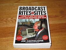 JOE CASTIGLIONE signed BROADCAST RITES & SITES 2004 Soft Cover Book