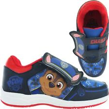 BOYS PAW PATROL CHARACTERS CASUAL TRAINERS SPORTS SHOES CHILDRENS UK SIZE 5-10