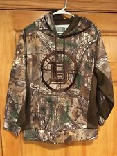 Old Time Hockey Causeway Collection Boston Bruins Camo Hoodie Mens Small