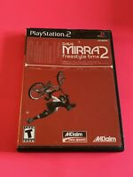 🔥SONY PS2 PlayStation Two 💯COMPLETE WORKING GAME 🔥 DAVE MIRRA 2 FREESTYLE BMX