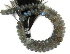10 Inch Strand 6mm AAA Natural Labradorite Smooth Rondelle Beads GDS961