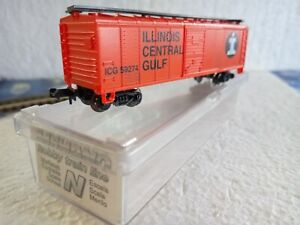 "MEHANO N - Ref. T471 BOX CAR Wagon de marchandises ""Illinois Central Gulf"""
