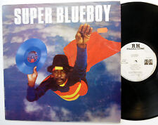 Super BLUEBOY Superman LP Soca Trinidad press NEAR-MINT
