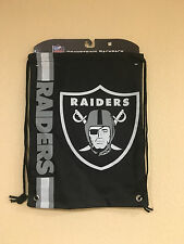 Oakland RAIDERS Drawstring backpack - BIG Raiders Logo by Forever Collectibles