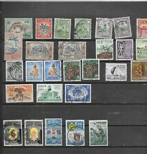 CEYLON. 1949-1958.  SELECTION OF 28.  FINE USED.  AS PER SCAN