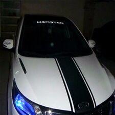 Black Auto waist line car sticker Racing stripes Car decal emblem Cruze Focus