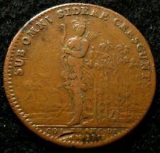 1751 Colonial American Indian Token Betts 385 SHARP
