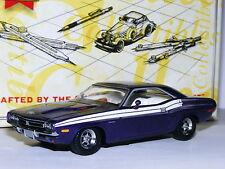 Matchbox Collectibles YMC12-M 1971 Dodge Challenger R/T 440 Purple 1/43