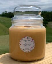 Strawberry Cheesecake, 100% Soy Wax, Wood Wick, 16oz, Candle, Great Gift, Gift f