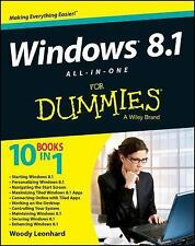 Windows 8.1 All-in-One For Dummies, Leonhard, Woody, 1118820878, Book, Good