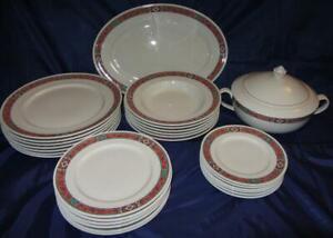 Villeroy & Boch RIALTO Pattern Dinner Service for Six (6)