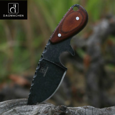 DAOMACHEN tactical hunting knife camping multi diving tool Stone wash Blade New