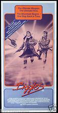 BIGGLES Daybill Movie poster Neil Dickson Alex Hyde White Peter Cushing