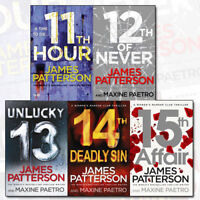 James Patterson Collection Women's Murder Club Series 3 - 5 Books Set  11th Hour